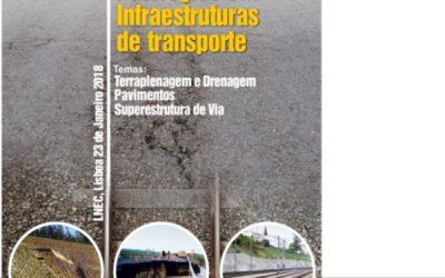 """Seminário """"Patologias em Infraestruturas de Transporte"""" (2018)"""